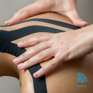 Curso de bandagem rígida e elástica - Kinesio-tapping